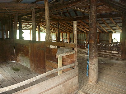 2013-11-18 08.50.05 P1050388 Simon - Quail Flat historic woolshed interior.jpeg: 4000x3000, 5479k (2013 Nov 17 19:50)