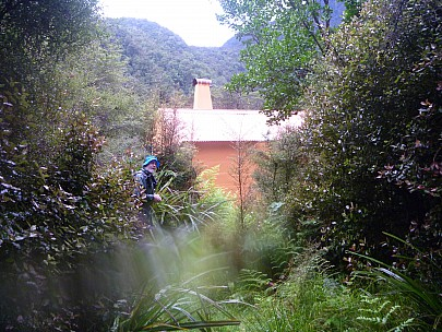2019-01-13 16.06.34 P1000561 Jim - Simon arriving at Tunnel Creek Hut.jpeg: 4320x3240, 5353k (2019 May 10 09:46)