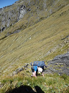 2019-01-15 12.09.40 P1010554 Brian - Alan and Jim descending from McCullaugh Saddle.jpeg: 3000x4000, 3923k (2019 Jun 24 09:09)